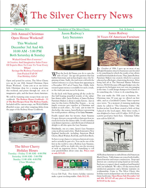 Silver Cherry Newsletter